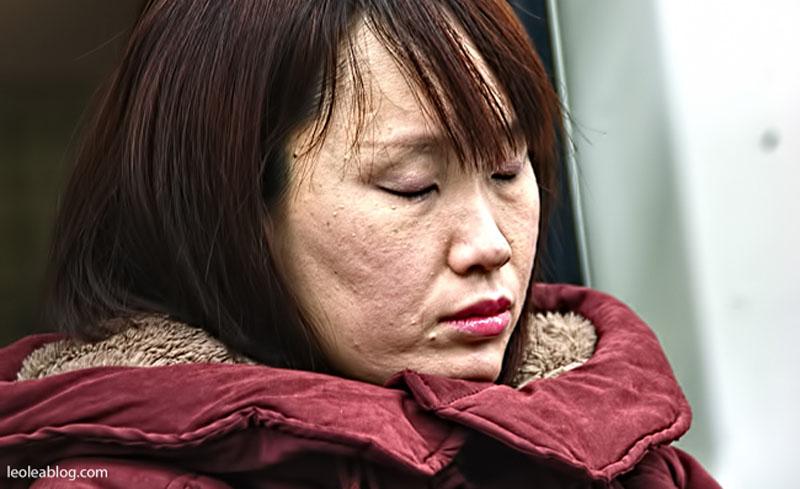 daegu korea southkorea asia metro people ludzie ludziewmetrze sleeper