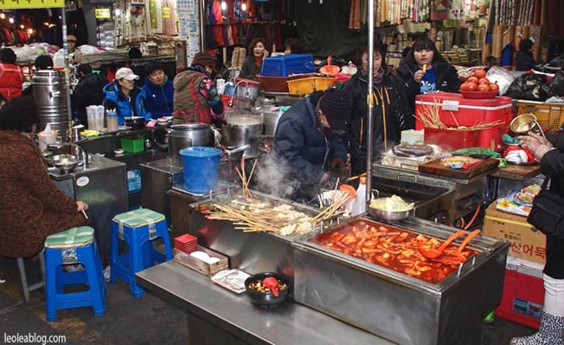 daegu korea southkorea asia gotowanienaulicy seomunmarket market targ jedzenie