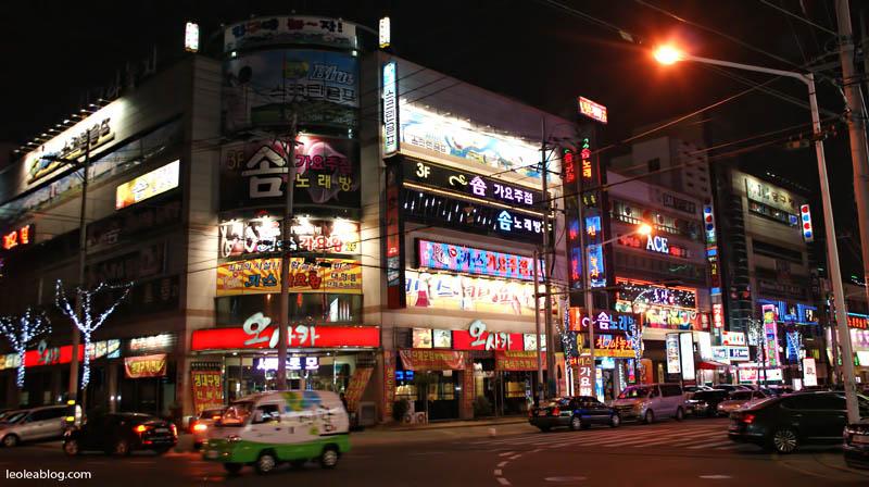 daegu korea southkorea asia downtown
