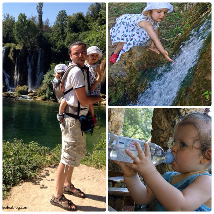 Bosnaandherzegovina Bosniaiherzegovina wodospad wodospadkravica Eu Europe Balkany Wakacje Holiday Travellers Journey childen dzieci leo lea tula