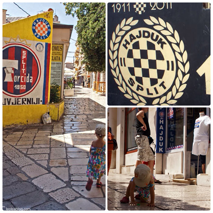 Hrvatska Chorwacja Split Torcida HajdukSplit Eu Europe Balkany Wakacje Holiday Travellers Journey Murale