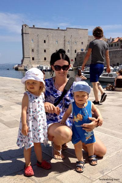 Hrvatska Chorwacja Dubrovnik Eu Europe Balkany Wakacje Holiday Travellers Journey Children Dzieci