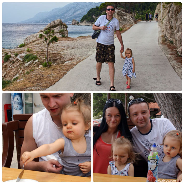 Hrvatska Chorwacja Brela Plima Plimaatbrela Eu Europe Balkany Wakacje Holiday Travellers Journey ontheseaside nadmorzem