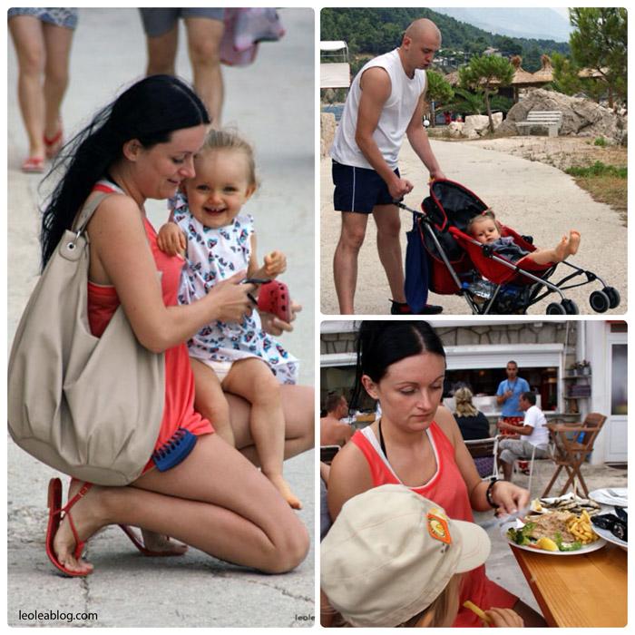 Chorwacja Hrvatska Brela Riwieramakarska naplazy ontheseaside nadmorzem adriatyk Eu Europe Balkany Wakacje Holiday Travellers Journey