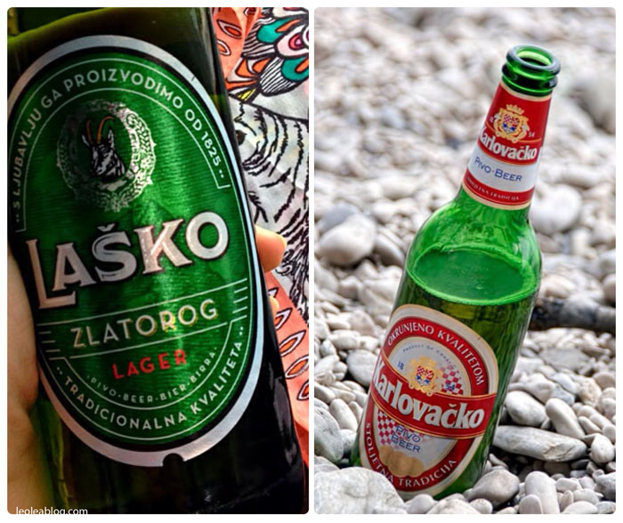 Hrvatska Chorwacja Brela Eu Europe Balkany Wakacje Holiday Travellers Journey Karlovacko Lasko Beer Piwo