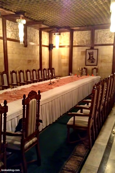 Restauracja Restaurant Mołdawia Moldova MilestiMici Winiarnia Podziemia Eu Europe