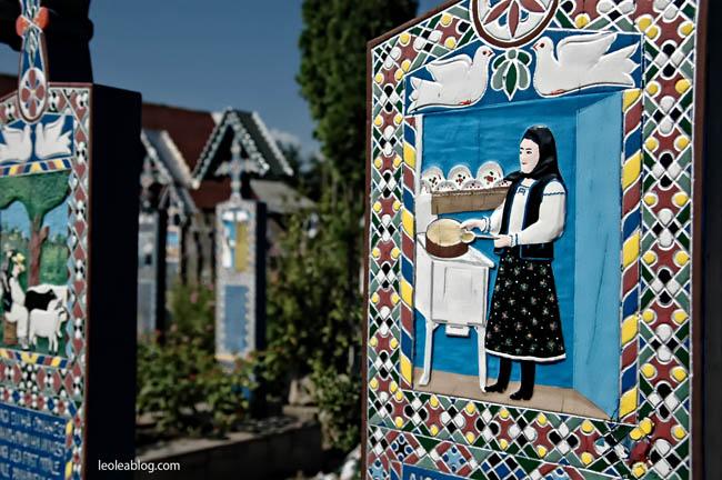 Rumunia Romania Eu Europe Easteurope widok journey travel travellers adventure wyprawa wyjazd podróżnicy  sapanta CimitirulVesel wesołycmentarz cmentarz maramures maramuresz