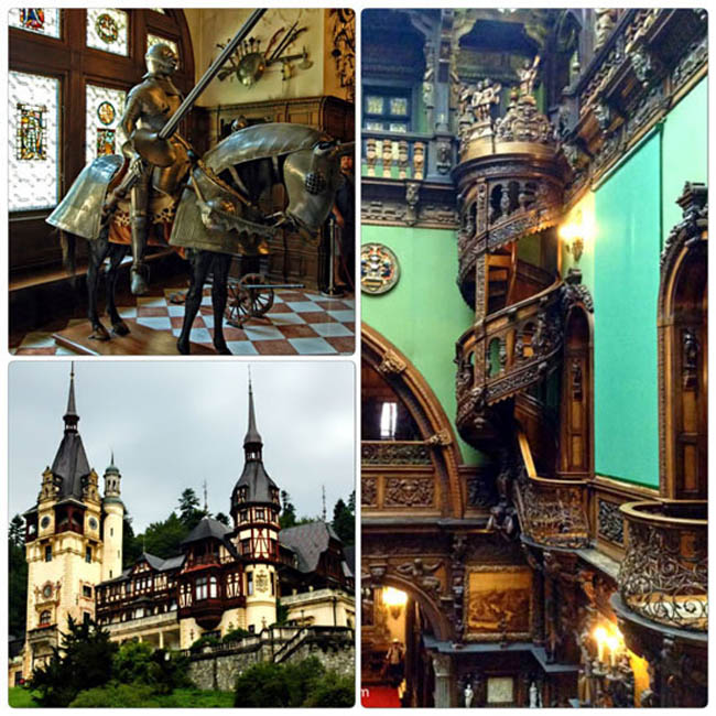 Rumunia Romania Eu Europe Easteurope peles zamekpeles castlepeles widok balkon journey travel travellers adventure wyprawa wyjazd podróżnicy Sinaia palacpeles