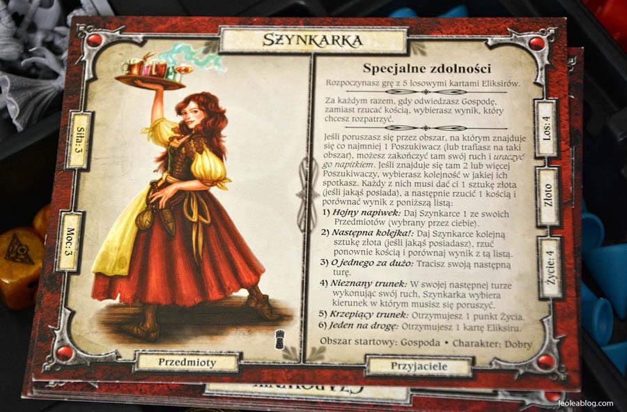 magiaimiecz talisman galakta graplanszowa planszowka gra relaks kartadogry scenariusz scenariuszgry boardgame szynkarka