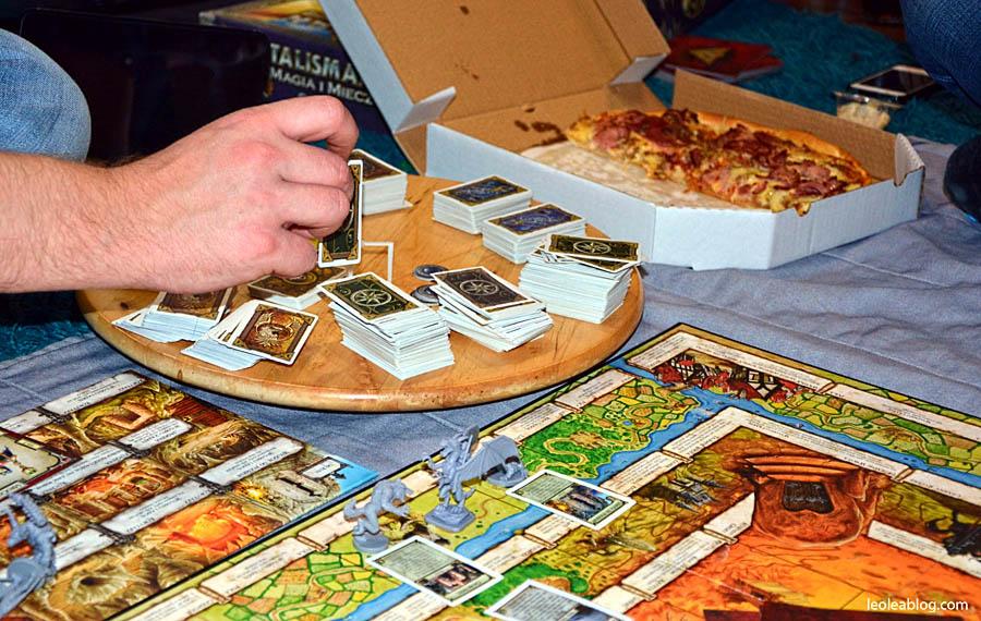 magiaimiecz talisman galakta graplanszowa planszowka gra relaks kartadogry scenariusz scenariuszgry boardgame pizza