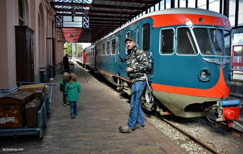 Dworzec Utrecht Holandia Spoorweg Spoorwemuseum Muzeum Muzeumkolejnictwa Holland Netherland Dutch Museum Kolej Train Eu Europe Trainmuseum Pociąg Peron Platform