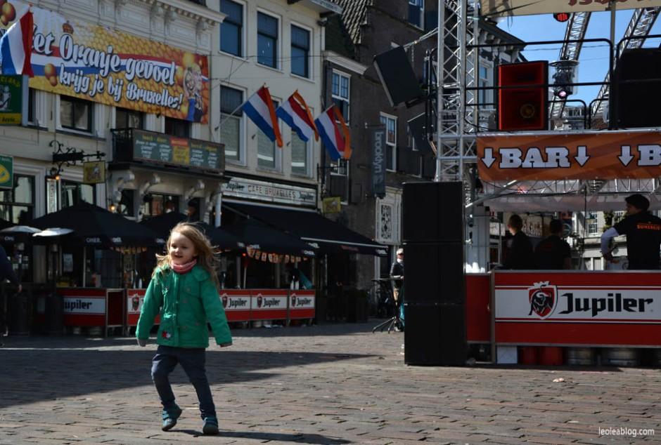 Breda Holland Holandia Swietokrola Koningsdag Swietonarodowe Oranje