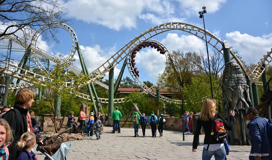 rollercoaster park rozrywki holandia efteling dladzieci bajkowy fantasy attractiepark amusement fun