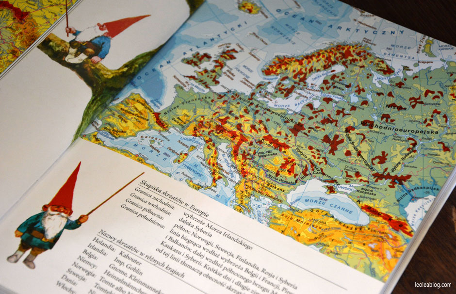 Skupiska skrzatów w Europie